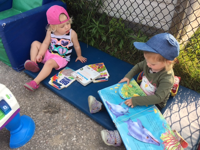 PJCC Daycare Children Reading